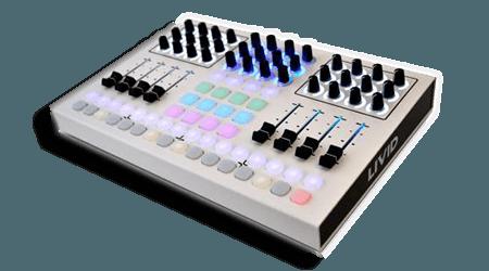 Livid Instruments CNTRL R WH USB MIDI-controller