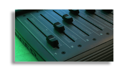 Control Surface With DAW Motorized Fader Action