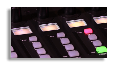 Eight Dynamic LCD Strips On The Behringer X-Touch