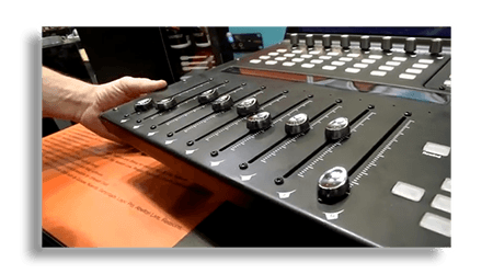 Flexible Automated Touch Sensitive Faders On The Icon G2