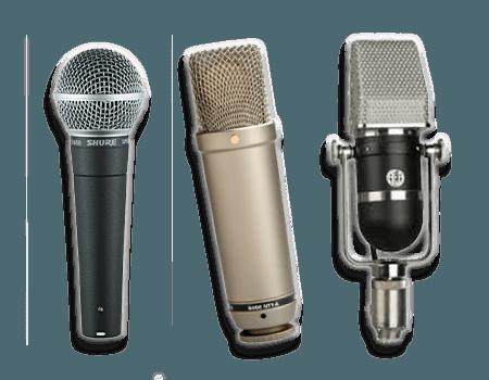Different Microphones