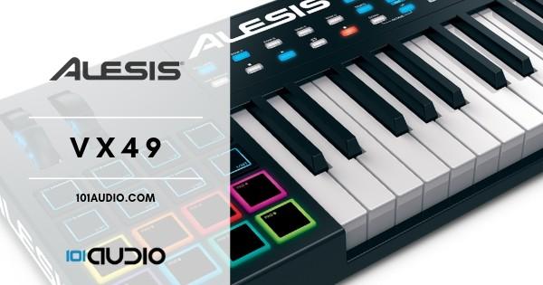 Alesis VX49 Midi Keyboard Controller
