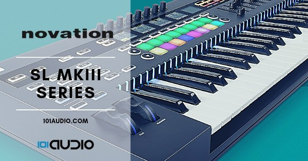 Novation SL MKIII Series Midi Keyboard Controller