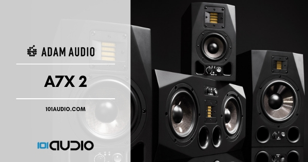 ADAM Audio A7X Studio Monitors