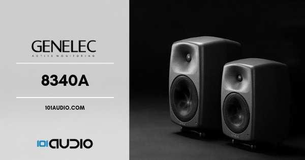 Genelec 8340A Studio Monitors