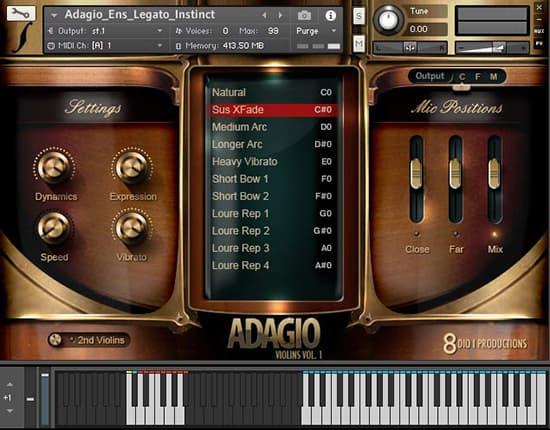 Adagio Violins