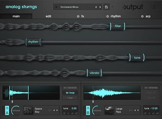Analog Strings