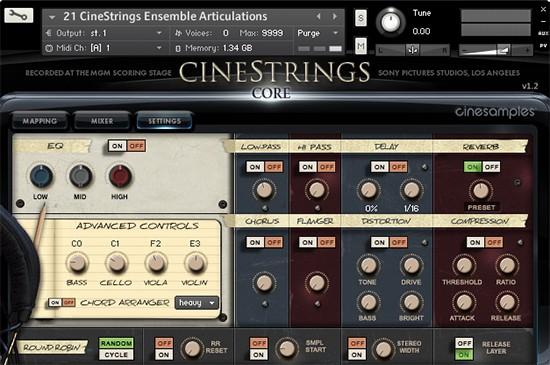 Cinestrings Core