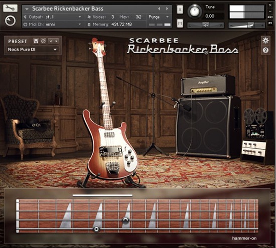 Rickerbacker Bass
