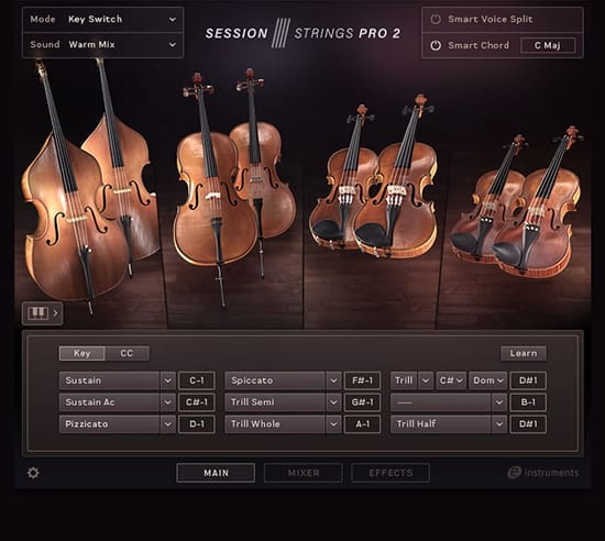 Session Strings Pro II