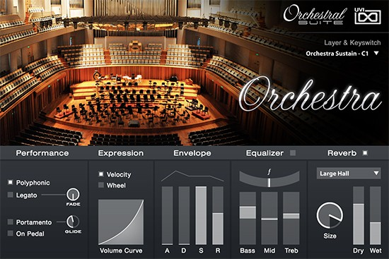 UVI Orchestral Suite Browser