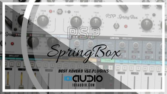 PSP SpringBox Reverb Plugin