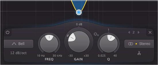 Pro-Q3 - Band Controls
