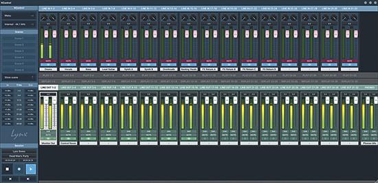Lynx NControl 32 Mixer
