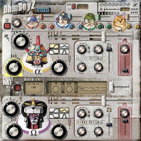Ohmboyz Funky Delay