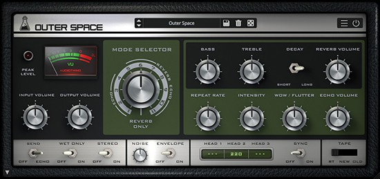 Outer Space Delay Plugin