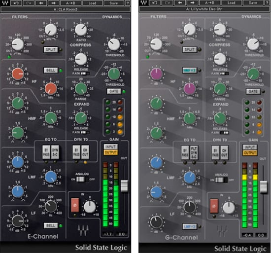 ssl-E and G channel