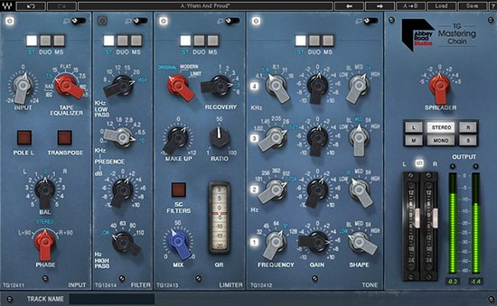 TG Mastering Chain