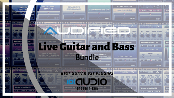 AUDIFIED Live Guitar and Bass Bundle