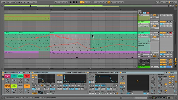 Ableton Live - Automation Shapes