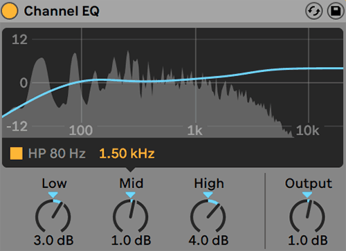 Ableton Live - Channel EQ