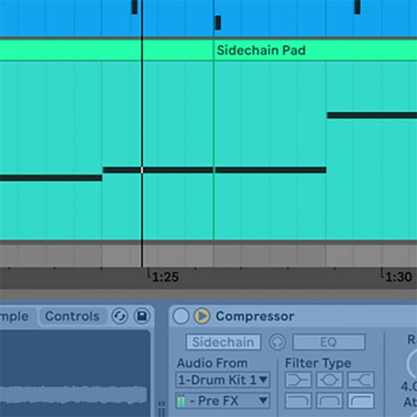 Ableton Live - Track Freezing with Side Chain