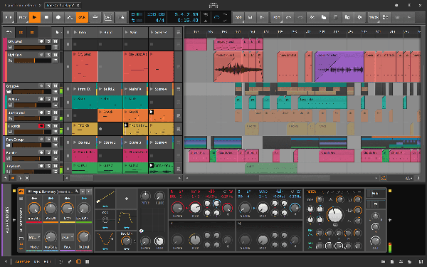 Bitwig Studio 3 User Interface