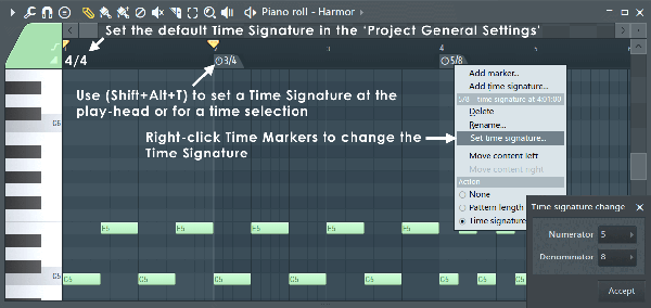 FL Studio - Time Signatures