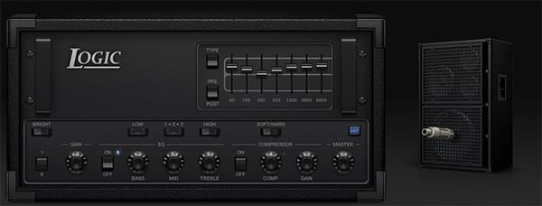 Logic Pro X Bass Amp