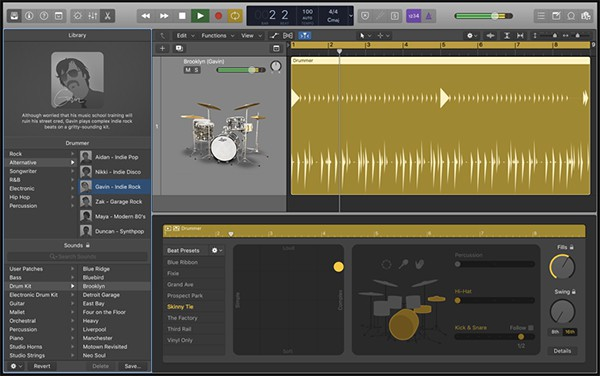Logic Pro X Drummer Software