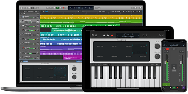Logic Pro X IOS Devices