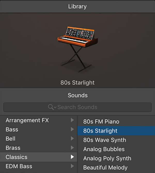 Logic Pro X - Patch Architecture