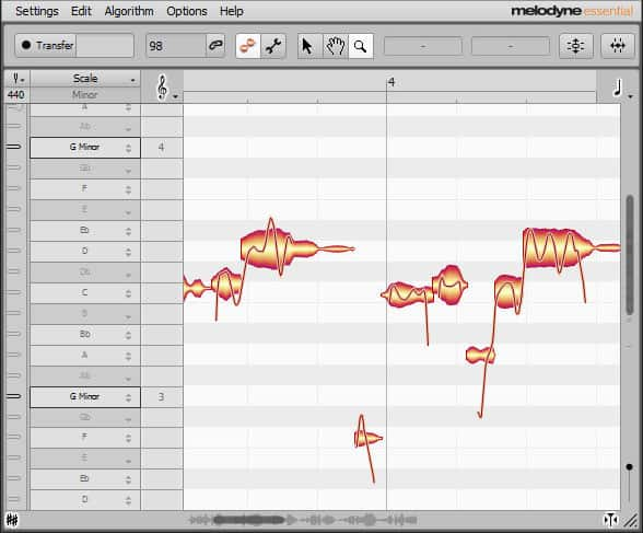 Mixcraft Pro 8 - Integrated Melodyne Tuning Software