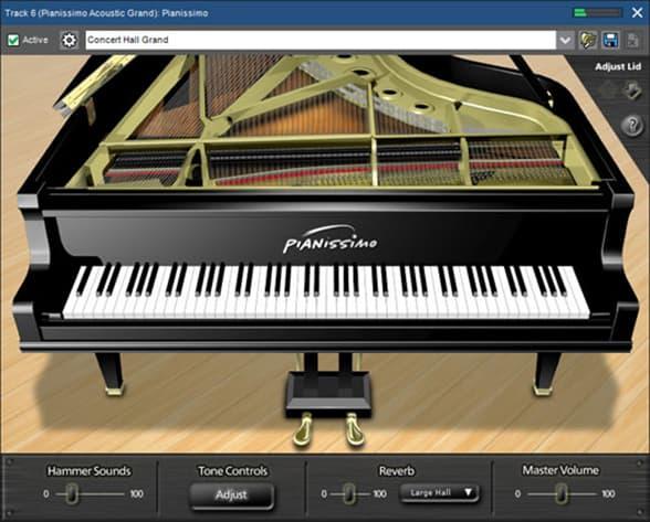 Mixcraft Pro Peerless Pianissimo Plugin