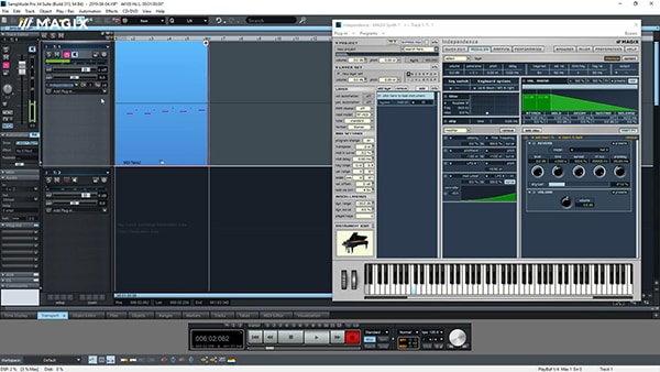 Samplitude Pro X Improved MIDI Editing