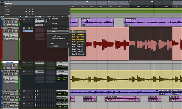 Updating Tracks During Playback