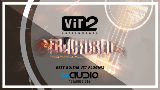 Vir2 Fractured Prepared Acoustic Guitar