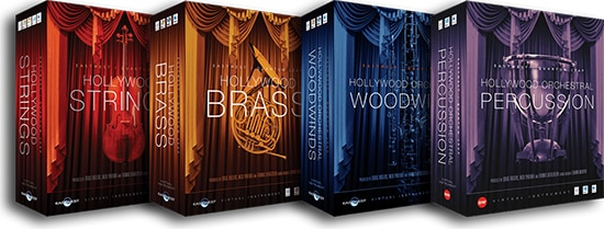EWQL Hollywood Orchestra Gold Edition