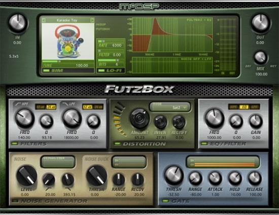 MCDSP Futzbox Distortion Plugin