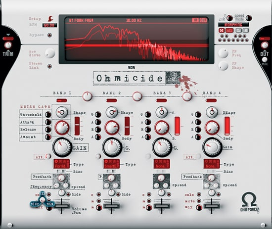 OhmForce Ohmicide Distortion VST