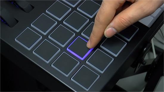 Alesis VI backlit pads