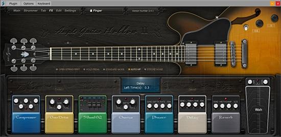 Ample Guitar Semi Hollow III