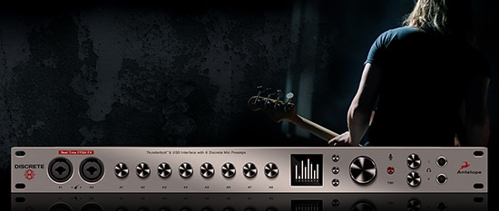 Discrete-8 Audio Interface