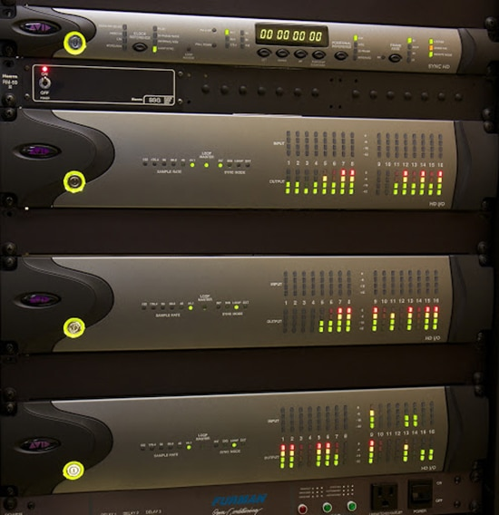 HD I O Audio Interface Stacked