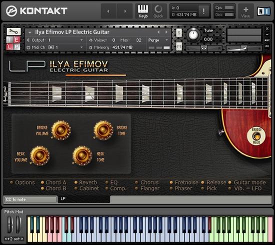 Ilya Efimov Electric LP Guitar