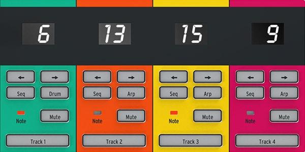 Keystep Pro 4-Track step sequencer