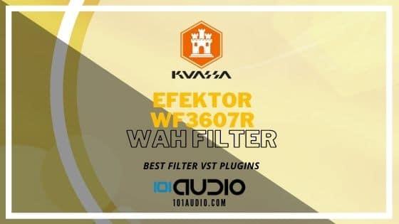 Kuassa - EFEKTOR WF3607 Wah Filter