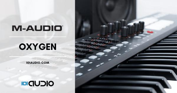 M Audio Oxygen MIDI Keyboard Controller