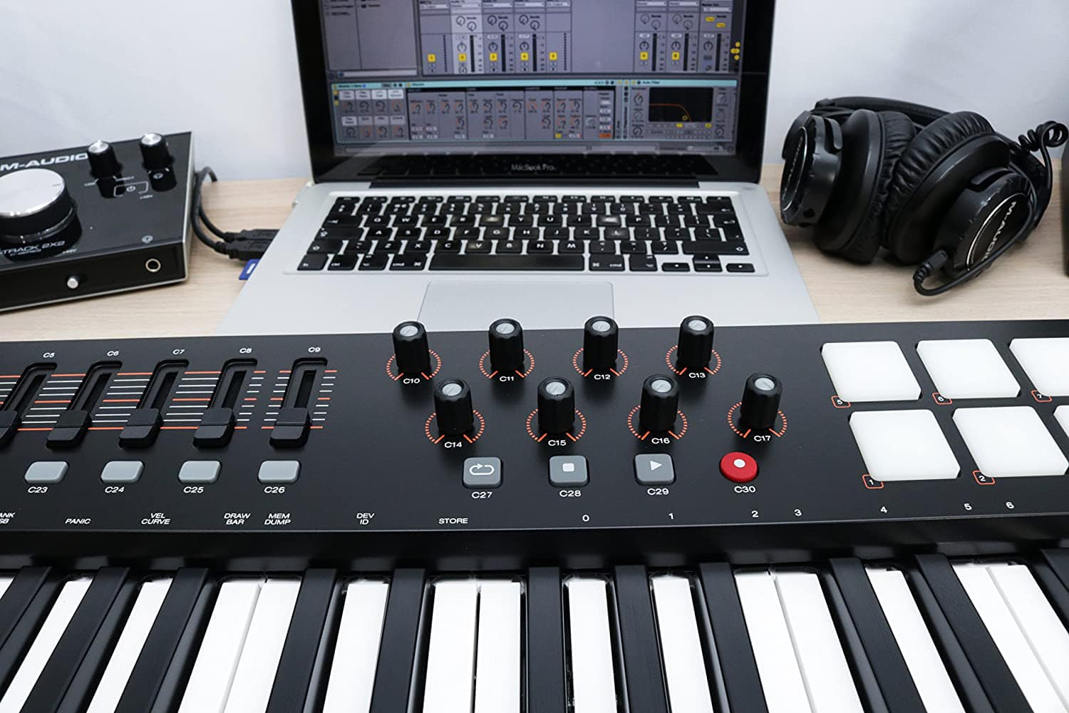 M Audio Oxygen with Ableton