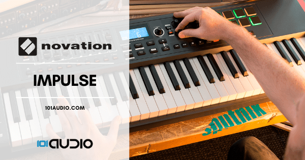 Novation Impulse MIDI Keyboard Controller